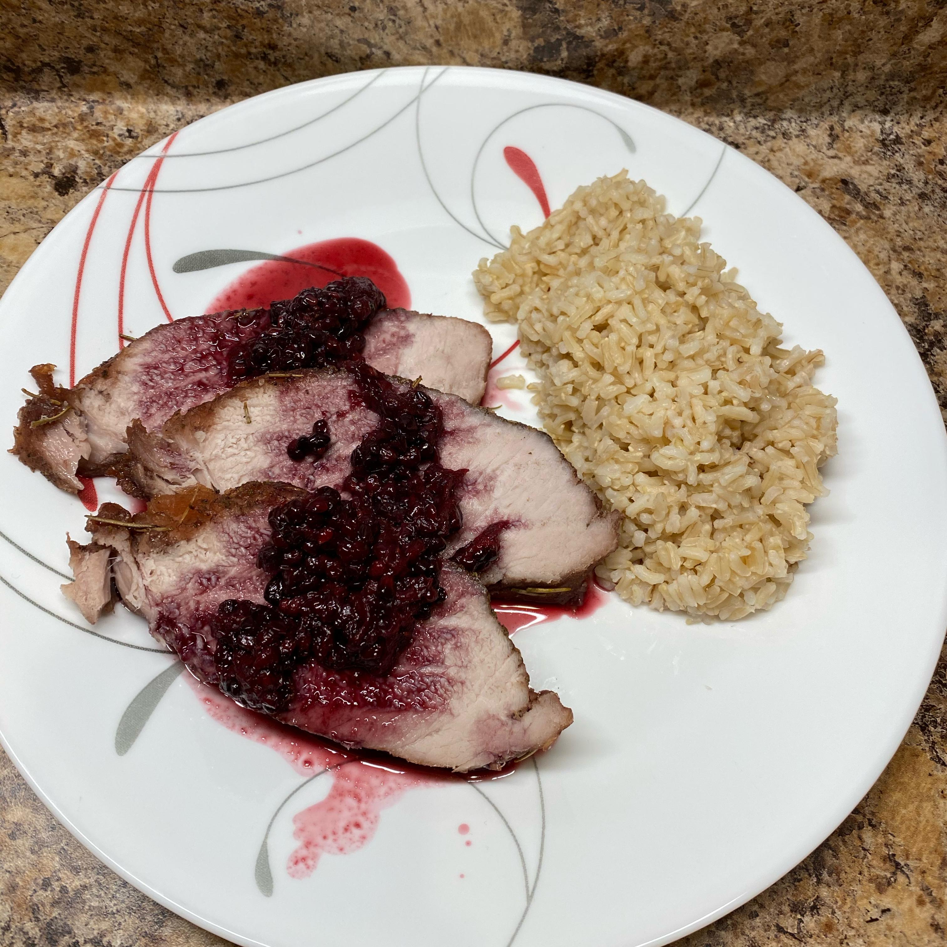 Slow Cooker Blackberry Pork Tenderloin Jeslyn Ida Gordon