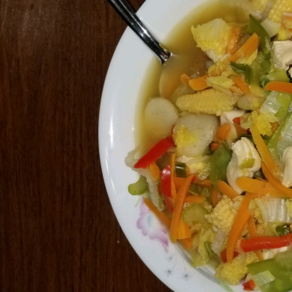 Chinese Chicken Vegetable Soup Allrecipes Cook