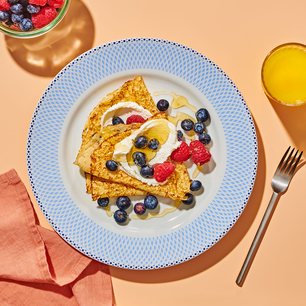 Ricotta-Berry Crepes Allrecipes Trusted Brands