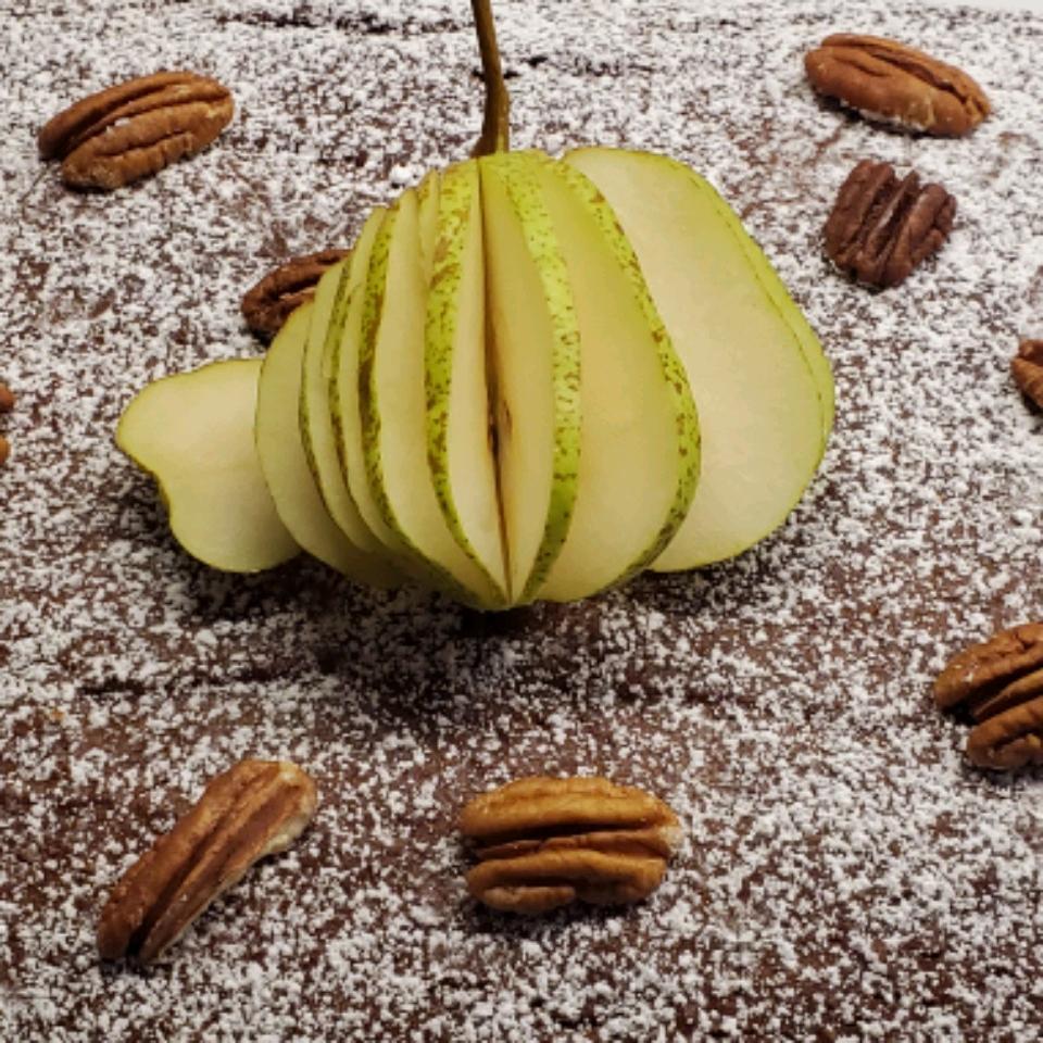 Fabulously Sweet Pear Cake