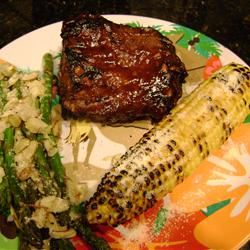 Southern Grilled Barbecued Ribs Nandabear