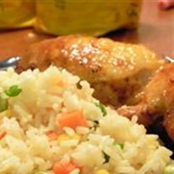 Grilled Chicken with Spicy Mango Glaze Sherbear1