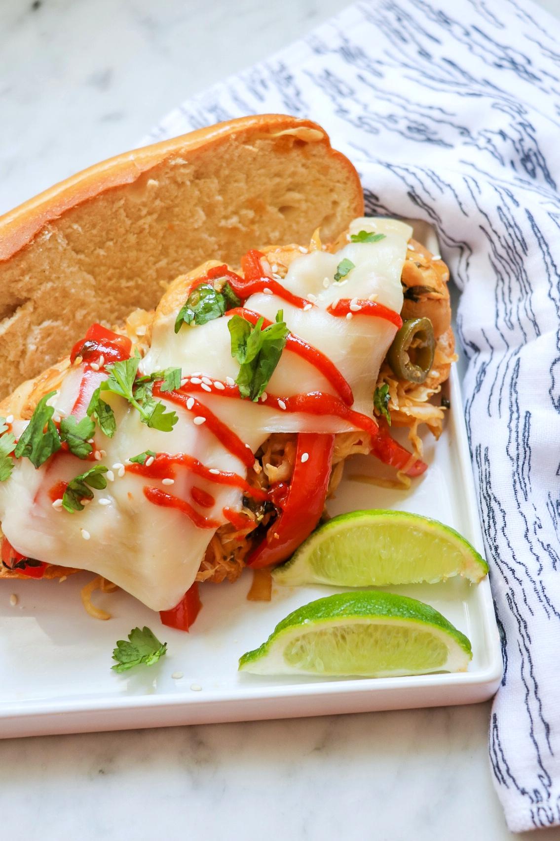 Ponzu Chicken Sandwich
