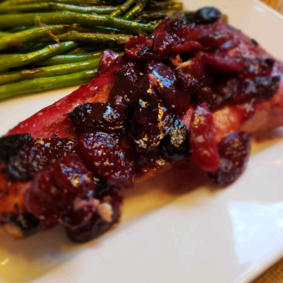 Cherry Glazed Salmon Barbara Kovacs
