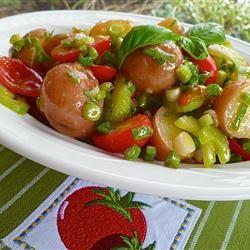 Mediterranean Red Potato Salad lutzflcat