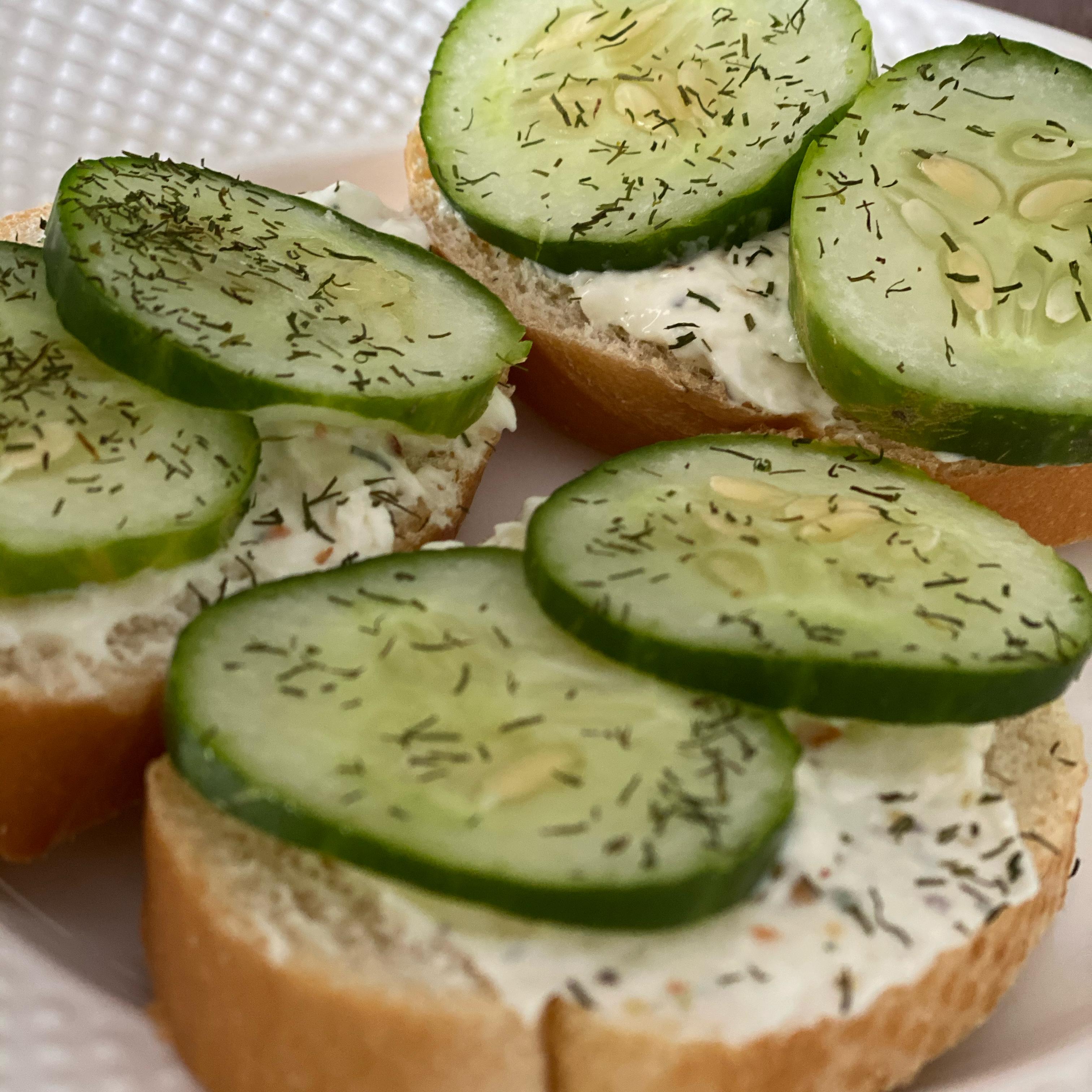Cucumber Sandwiches II