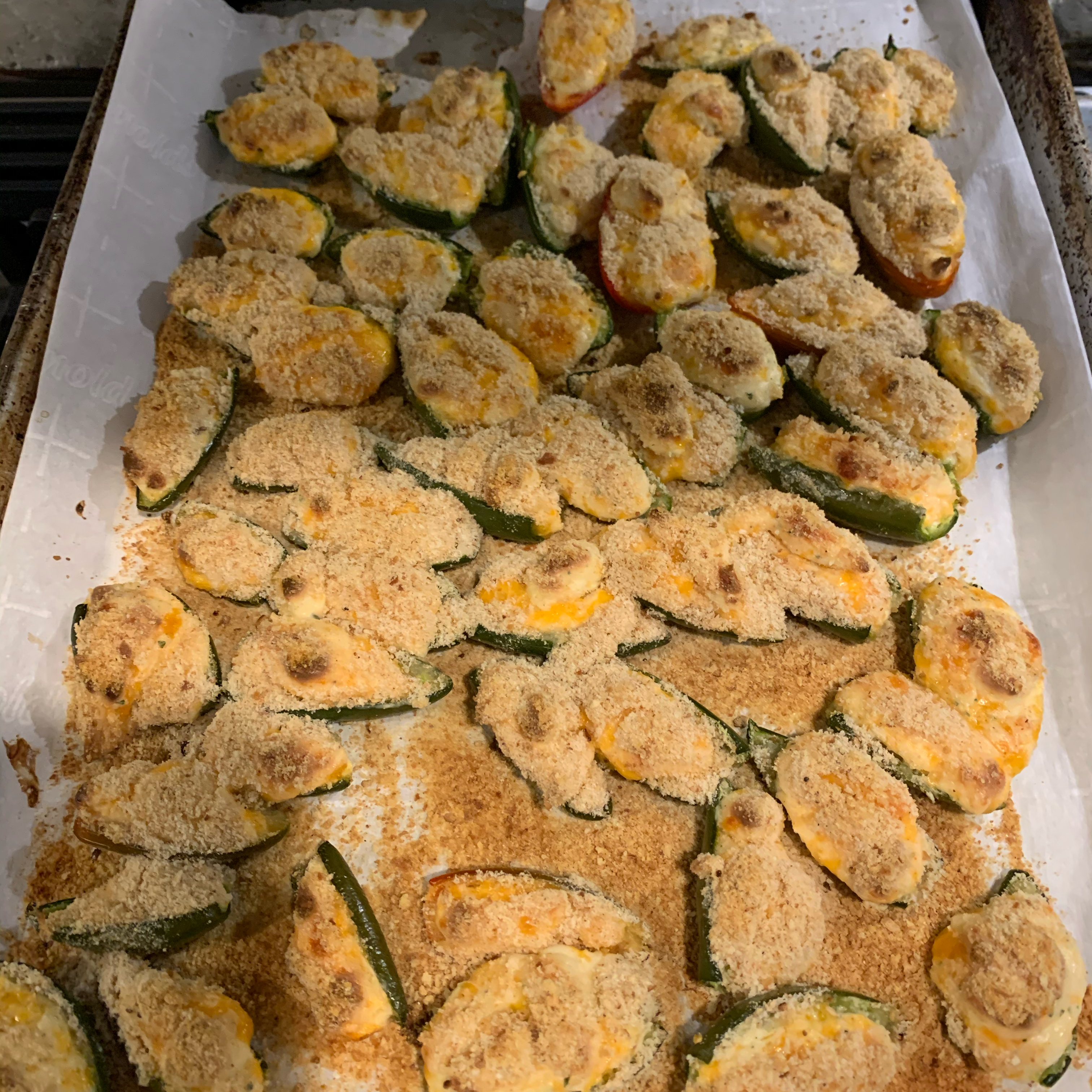 Baked Cream Cheese Jalapeno Poppers