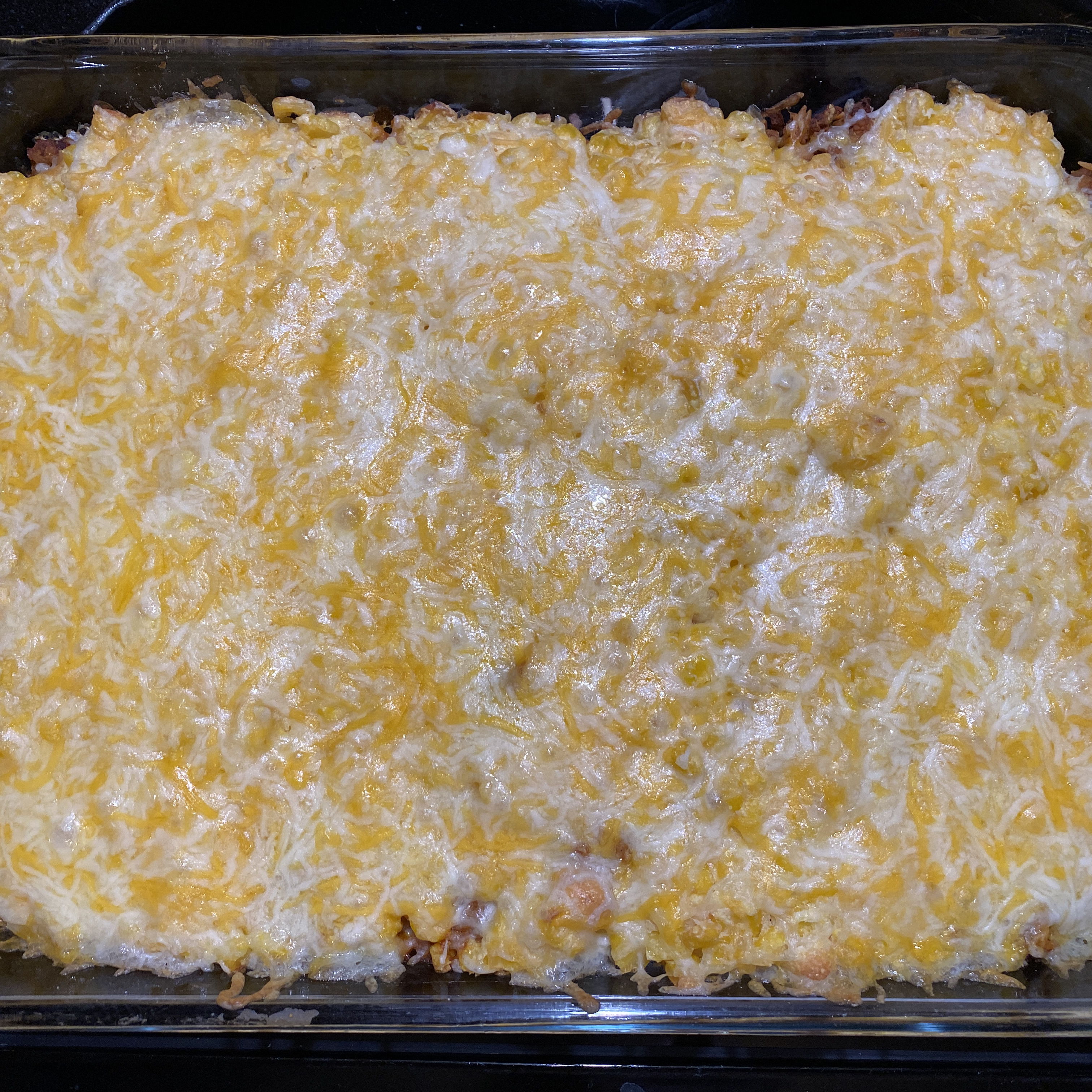 Mexican Turkey Corn Bread Casserole