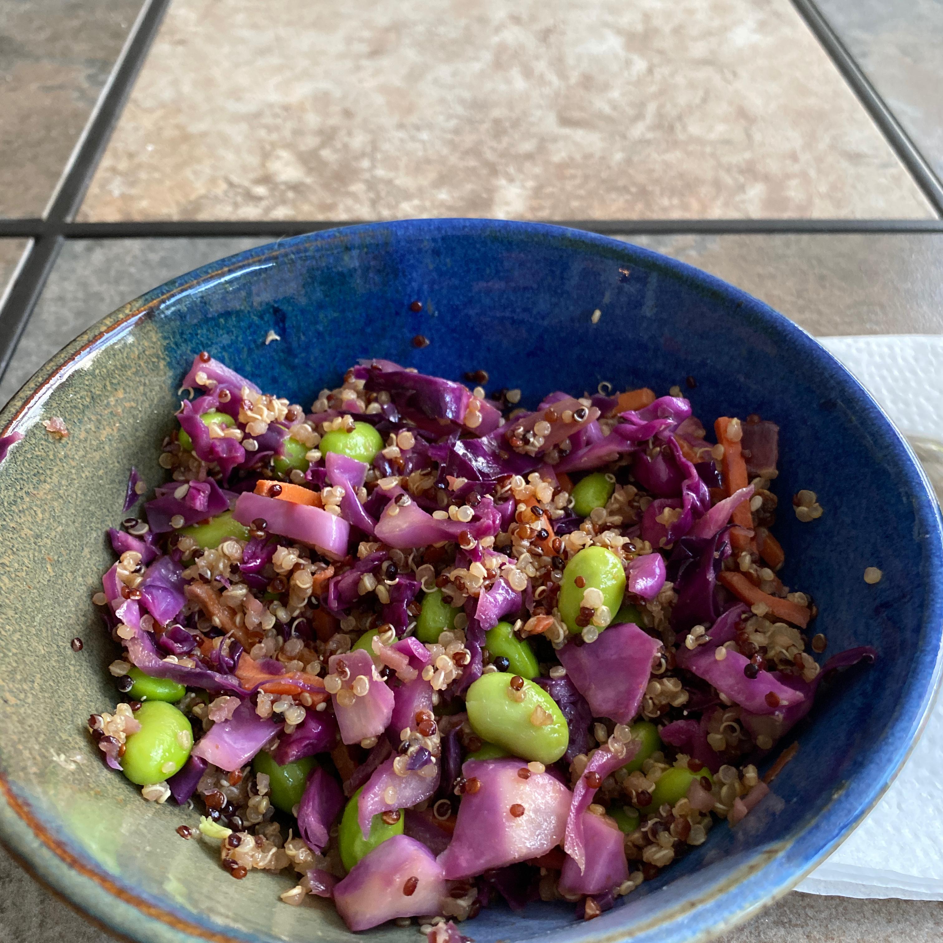 Asian Quinoa Salad Melissa Bahnick Cook