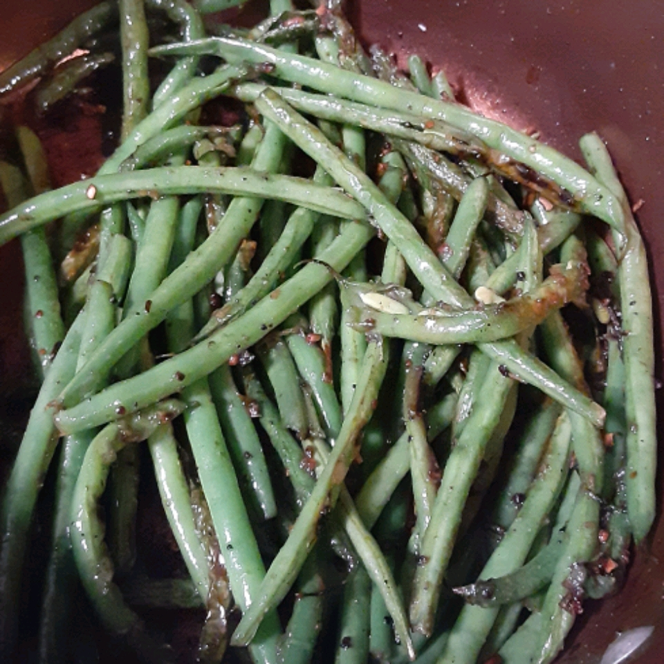Pan Fried Green Beans Rena Self