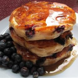 Todd's Famous Blueberry Pancakes