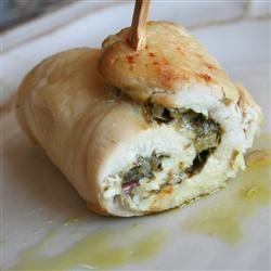 Pesto Cheesy Chicken Rolls Jennifer Baker