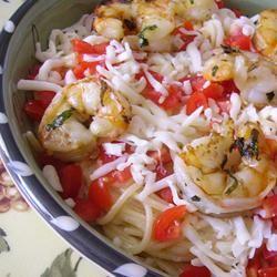 Grilled Shrimp Caprese Christina