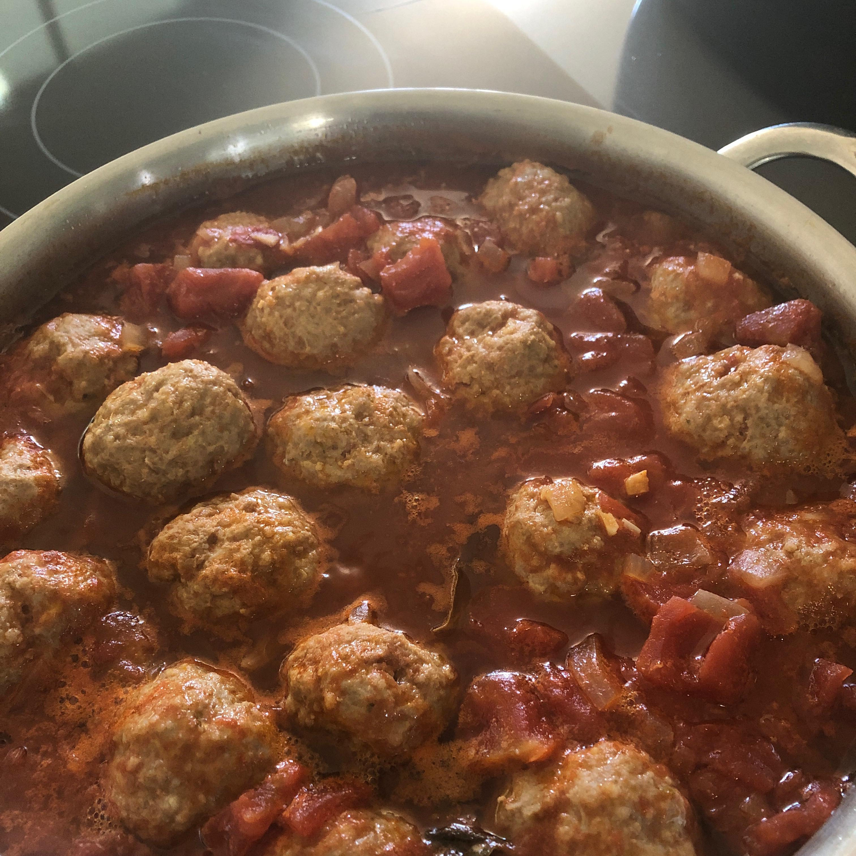 Italian Spaghetti Sauce with Meatballs