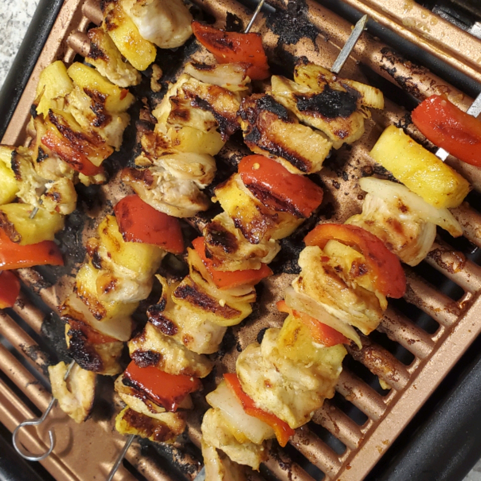 Caribbean-Inspired Grilled Chicken Kabobs