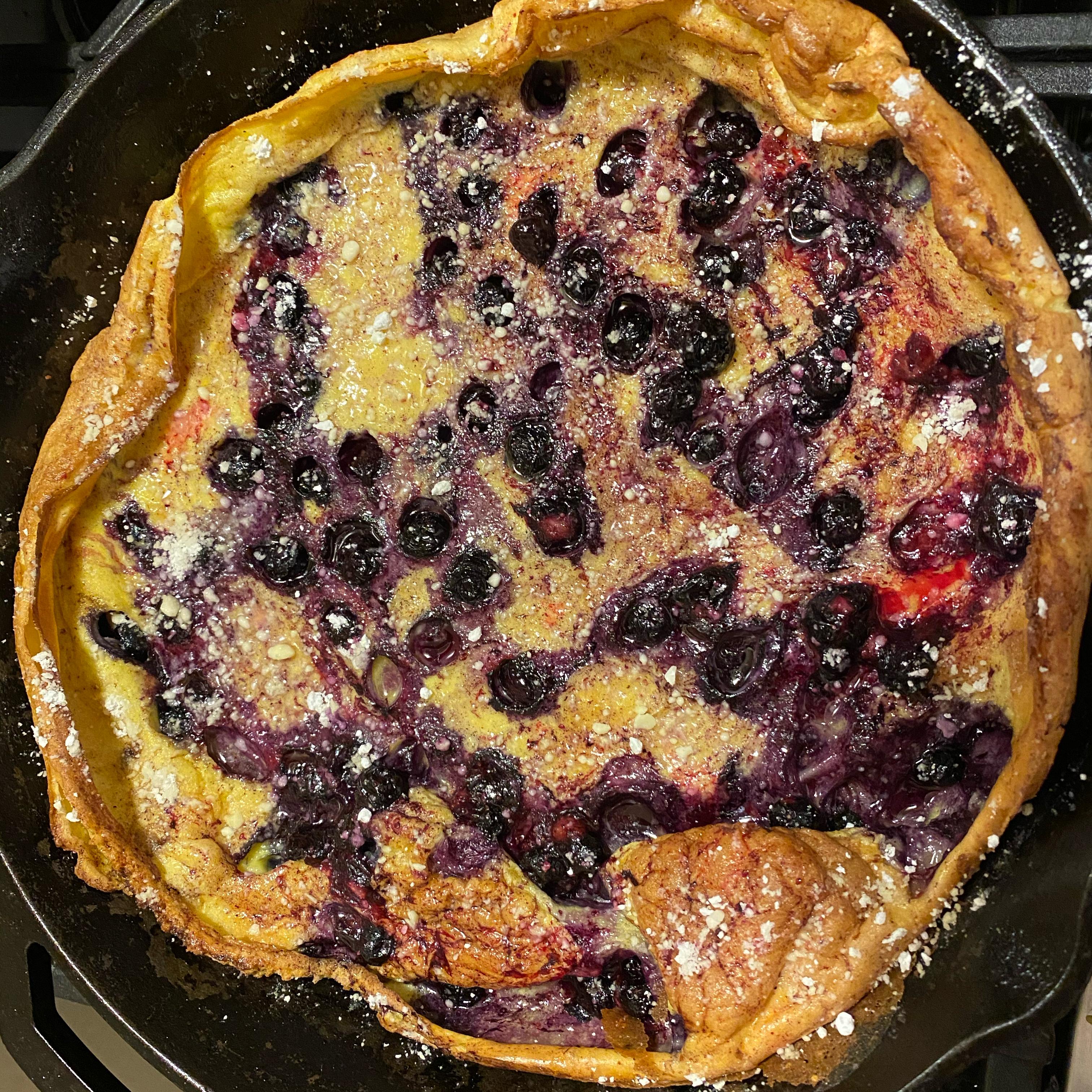 Chef John's Blueberry Dutch Baby