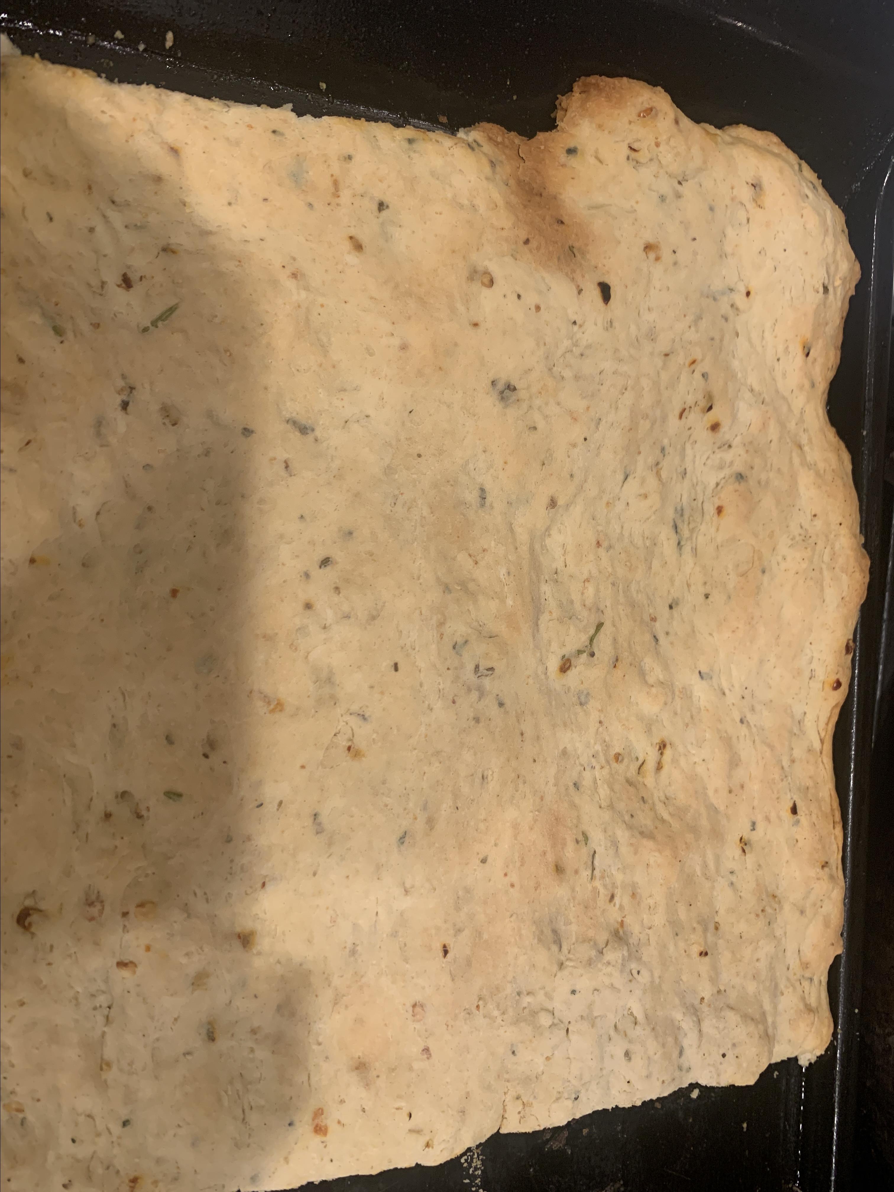 Exquisite Yeastless Focaccia