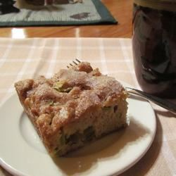Rhubarb Stir Cake MN Nice