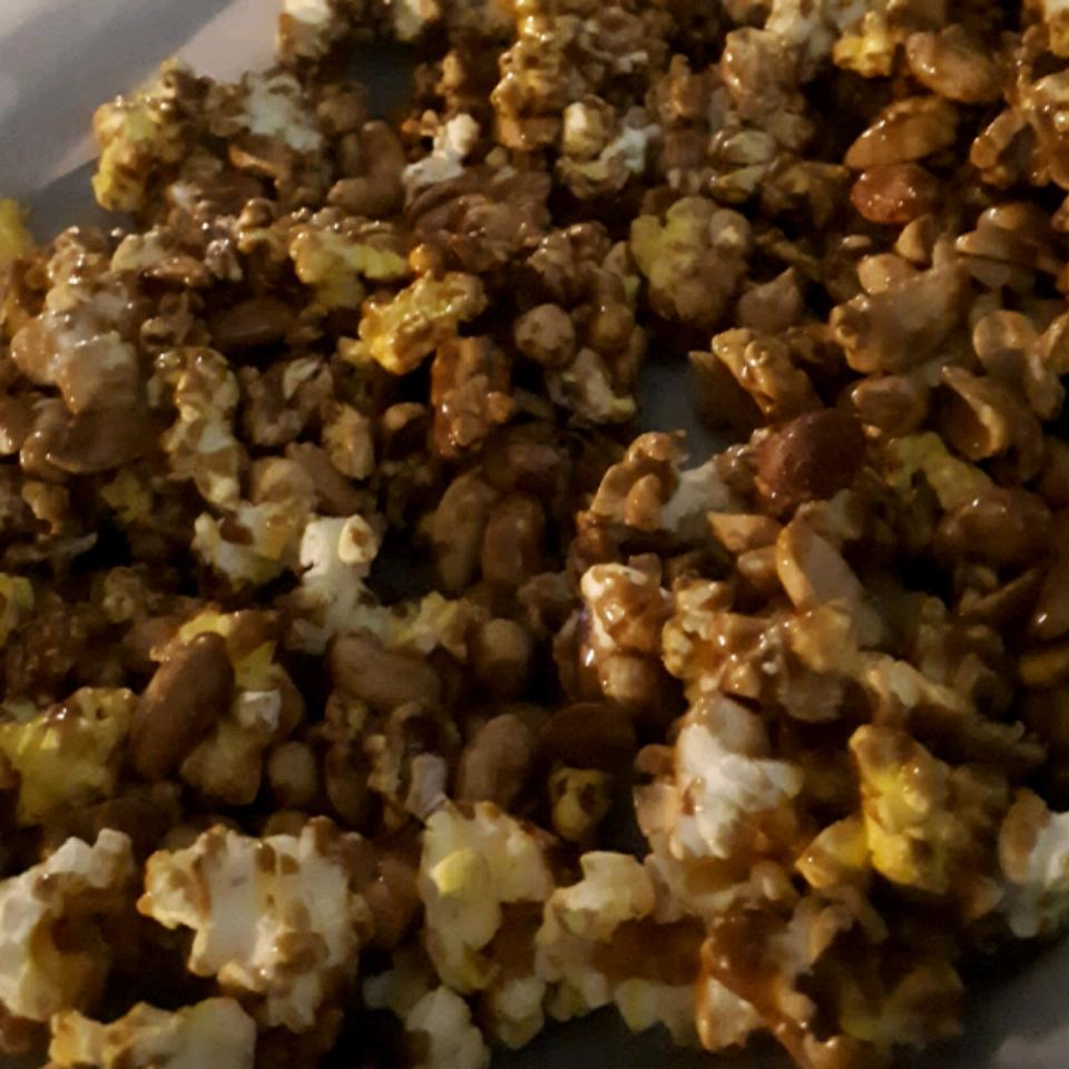 Caramel Pretzel Nut Popcorn Heather Boughen