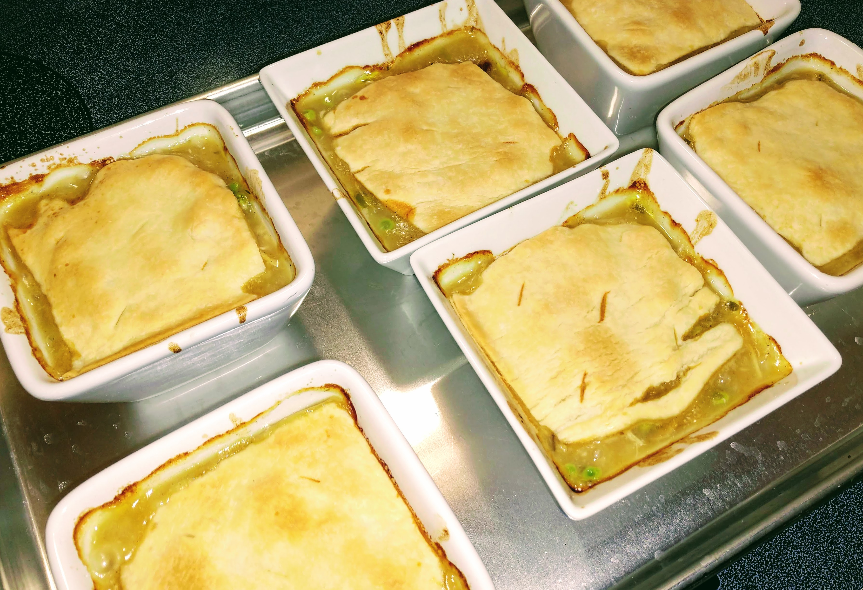 Catha's Individual Turkey Pot Pies