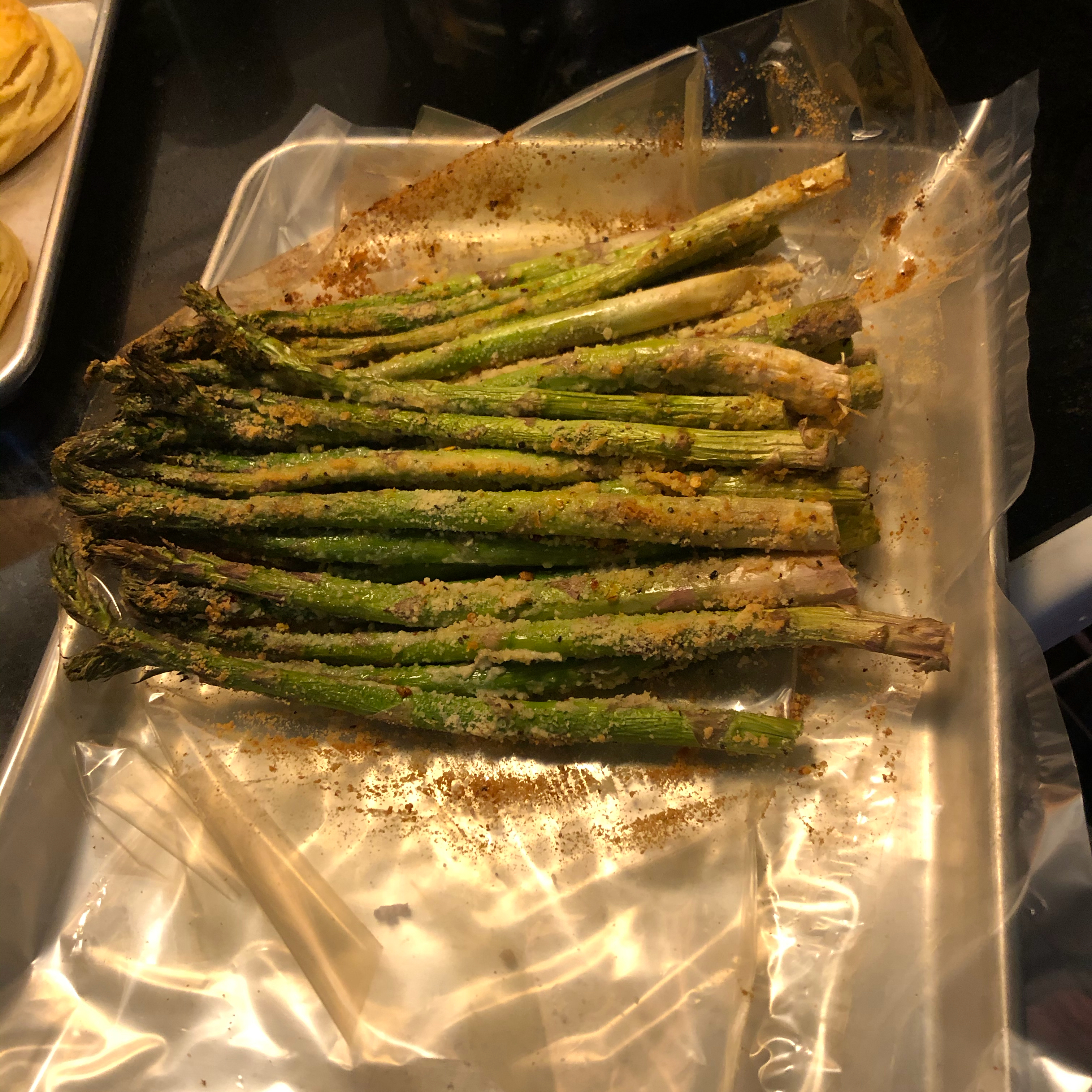 Air Fryer Roasted Asparagus Alice Tracy