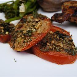 Baked Tomatoes Oregano TheBritishBaker