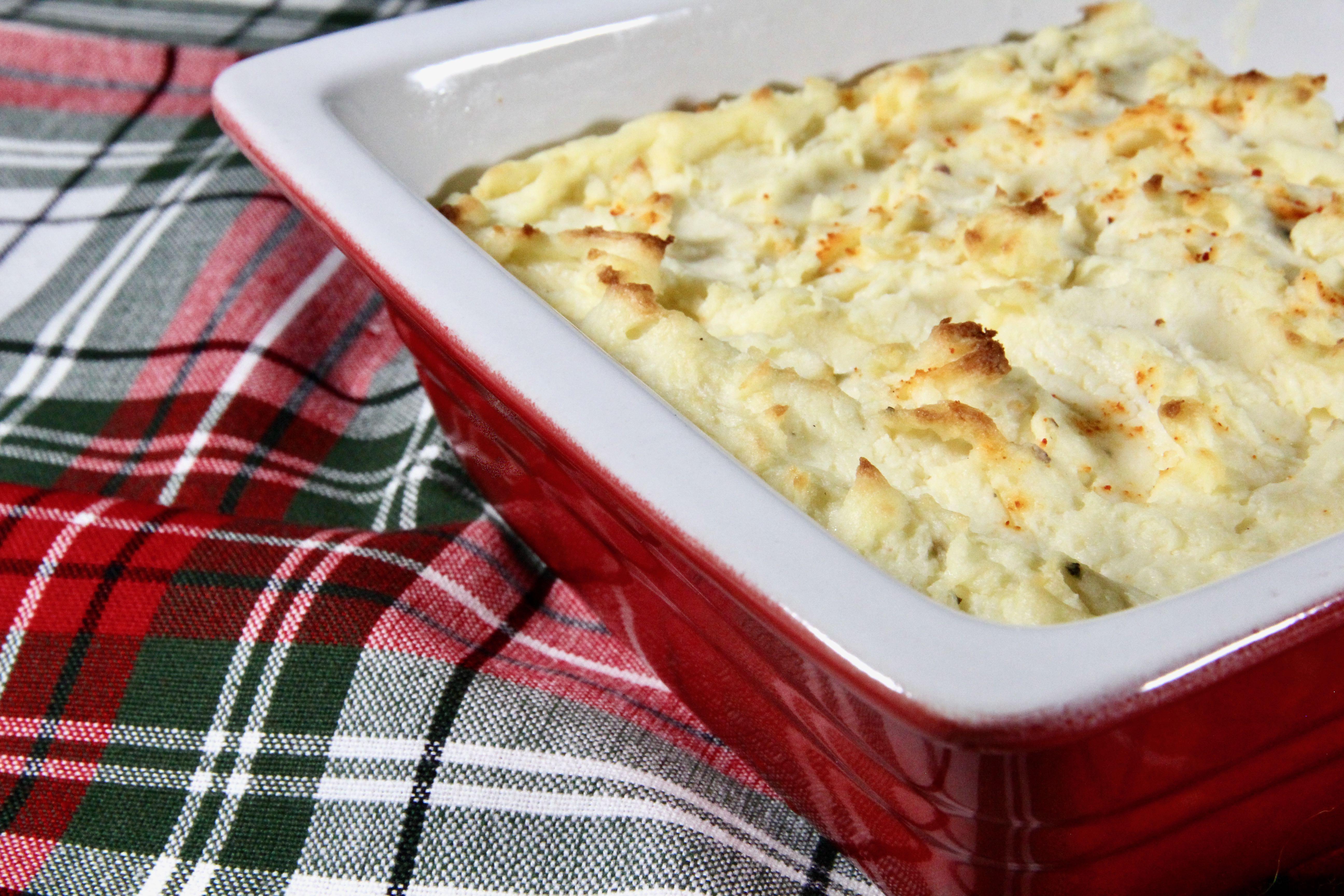 Mascarpone Mashed Potatoes lutzflcat