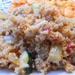 Roasted Veggies with Couscous
