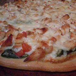 Gourmet Chicken Pizza Sharyn