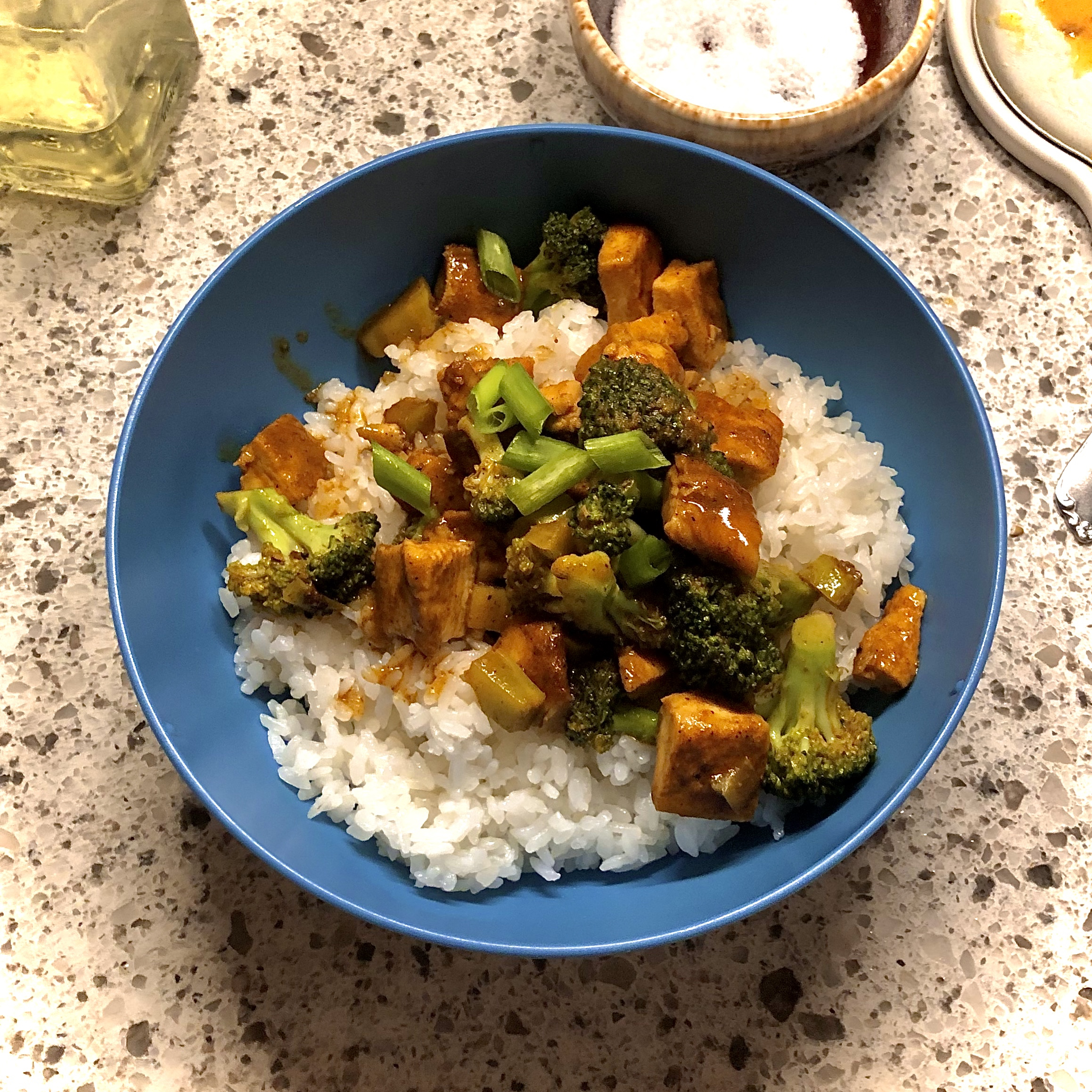 Chicken and Broccoli Curry Alexander