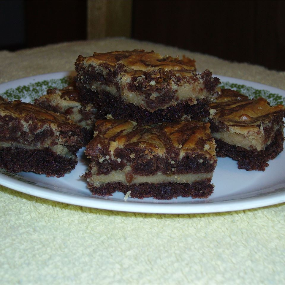 Michelle's Peanut Butter Marbled Brownies Karen