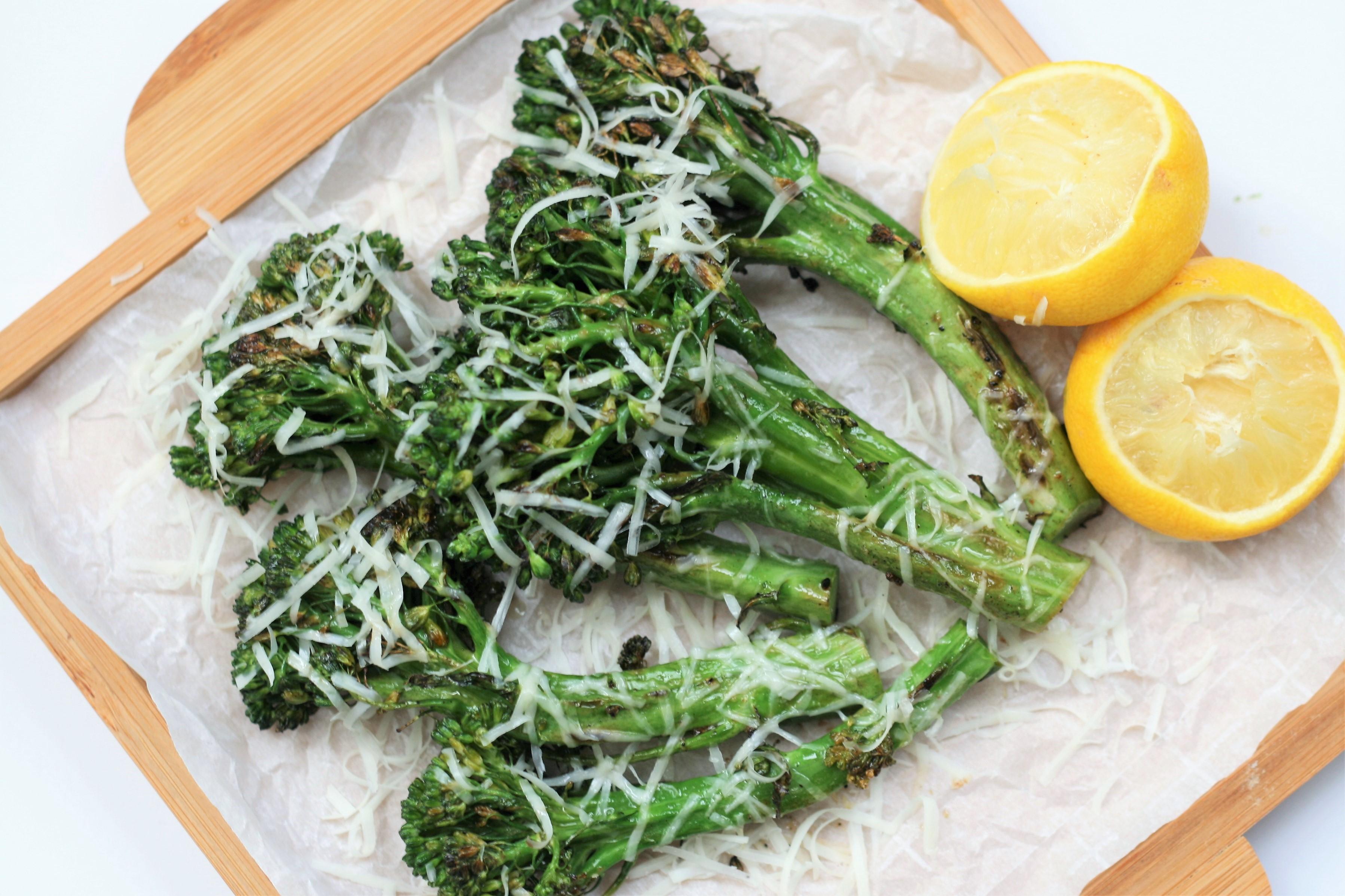 Grilled Lemon Broccolini