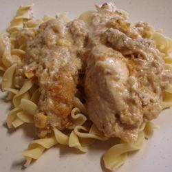 Creamy Garlic Mushroom Chicken Courtney