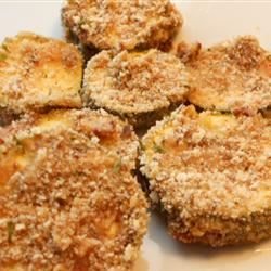 Breaded and Baked Zucchini