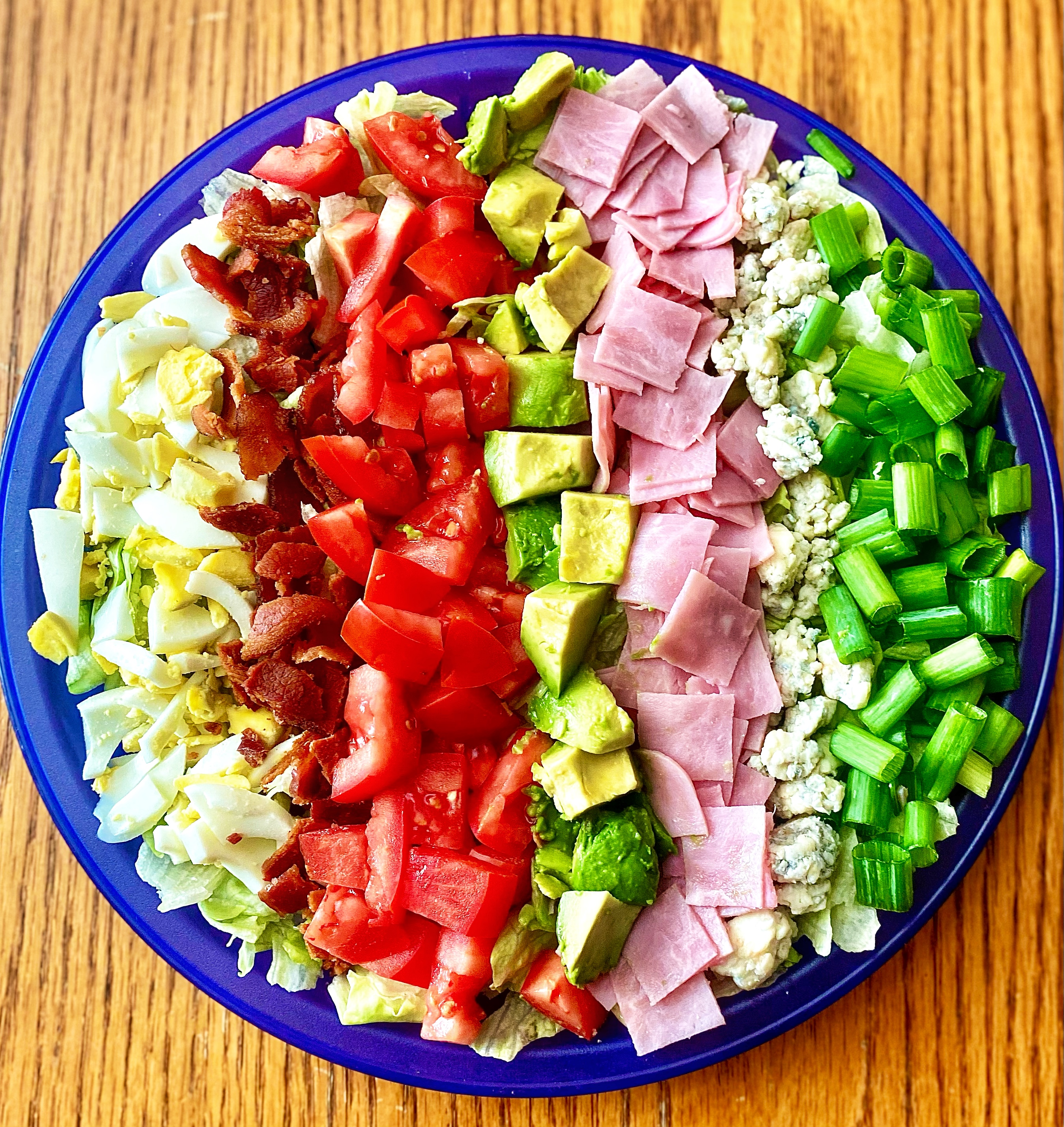 Cobb Salad with Ham
