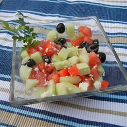 Cucumber and Blue Cheese Salad mommyof4