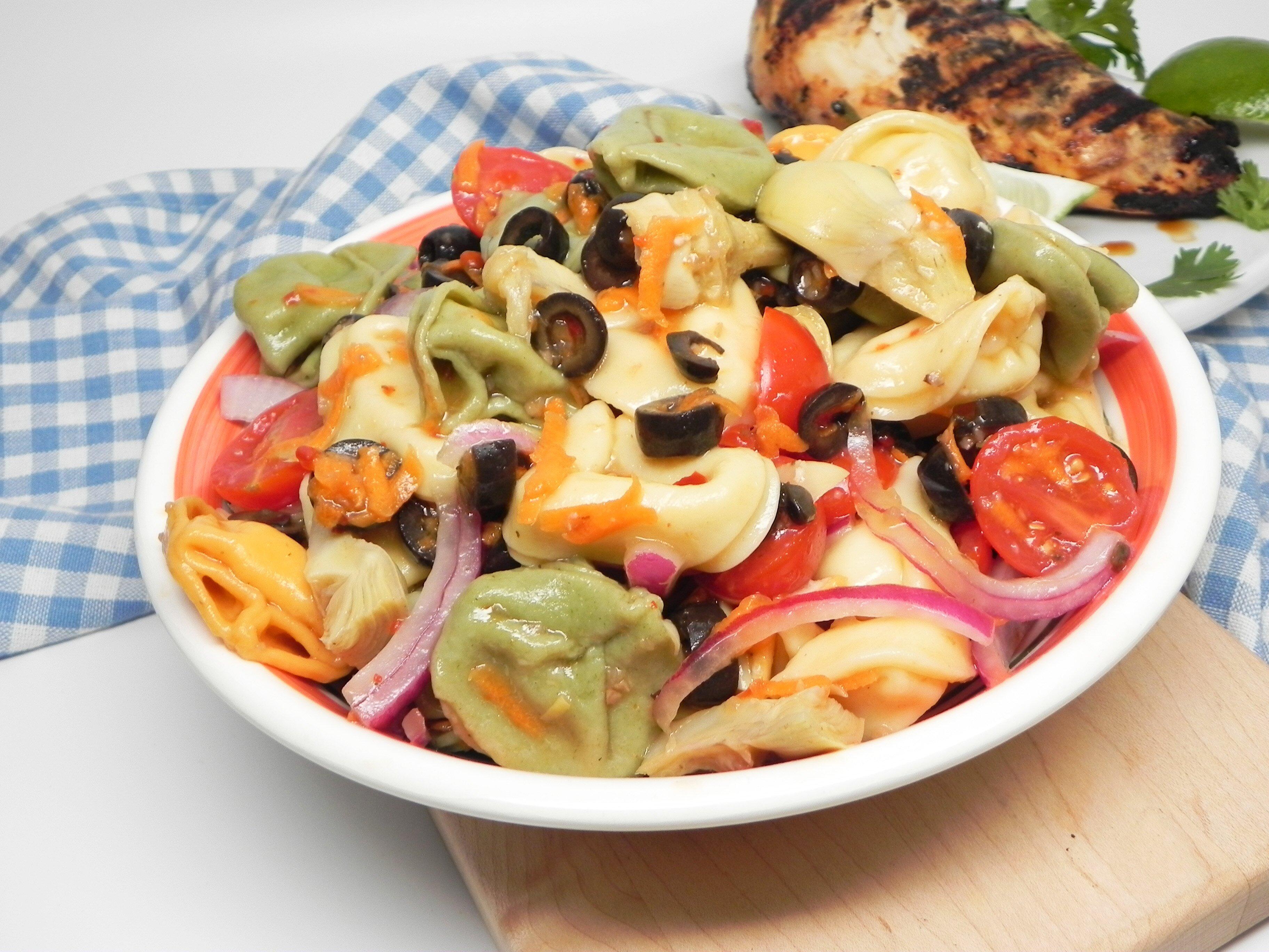 Easy Tortellini Salad Recipe Allrecipes