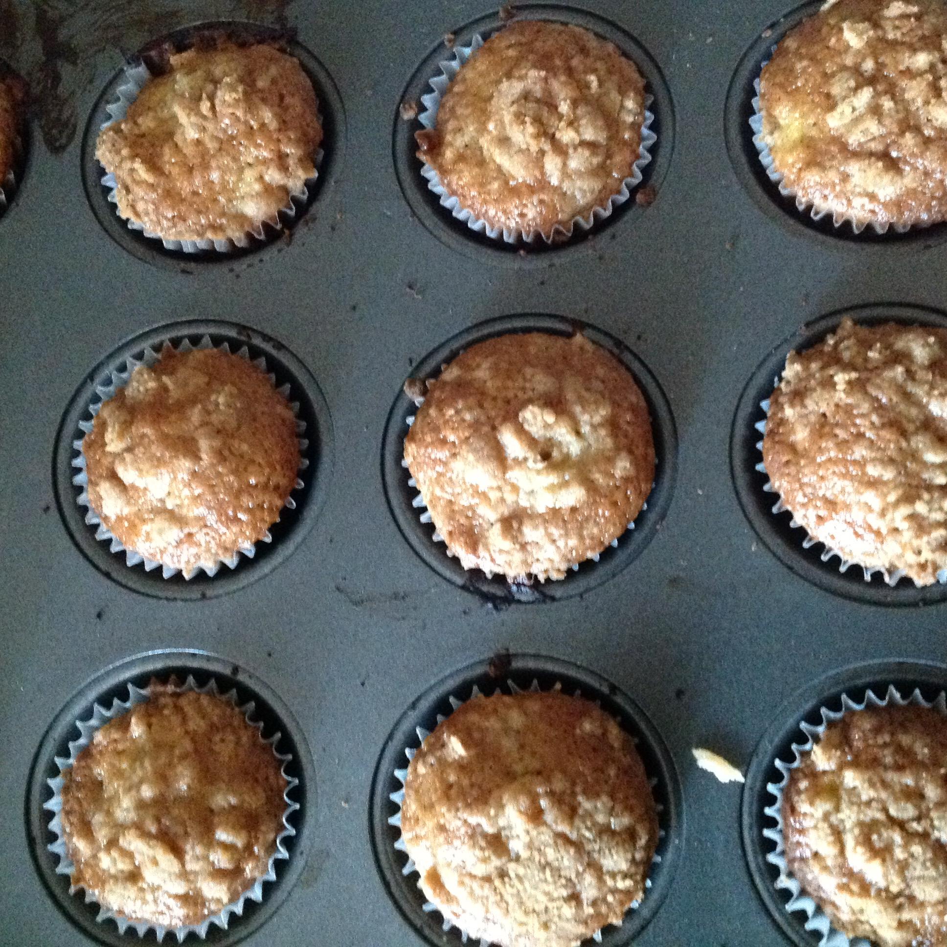 Peach Cobbler Muffins Charlie Harris