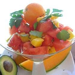 melon mango and avocado salad recipe