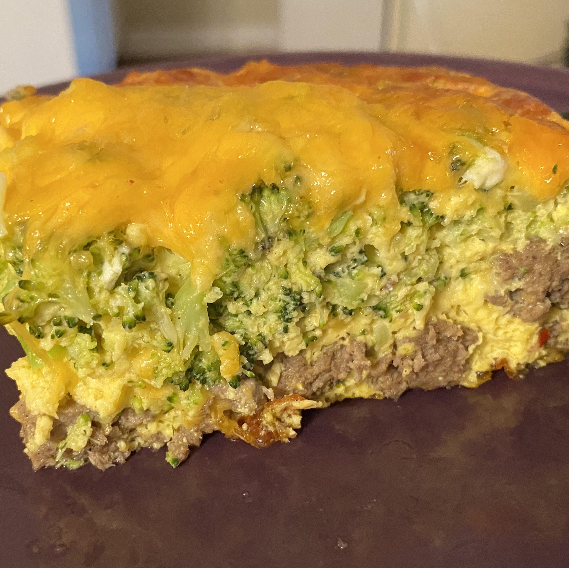 Broccoli and Cheese Brunch Casserole Genevieve