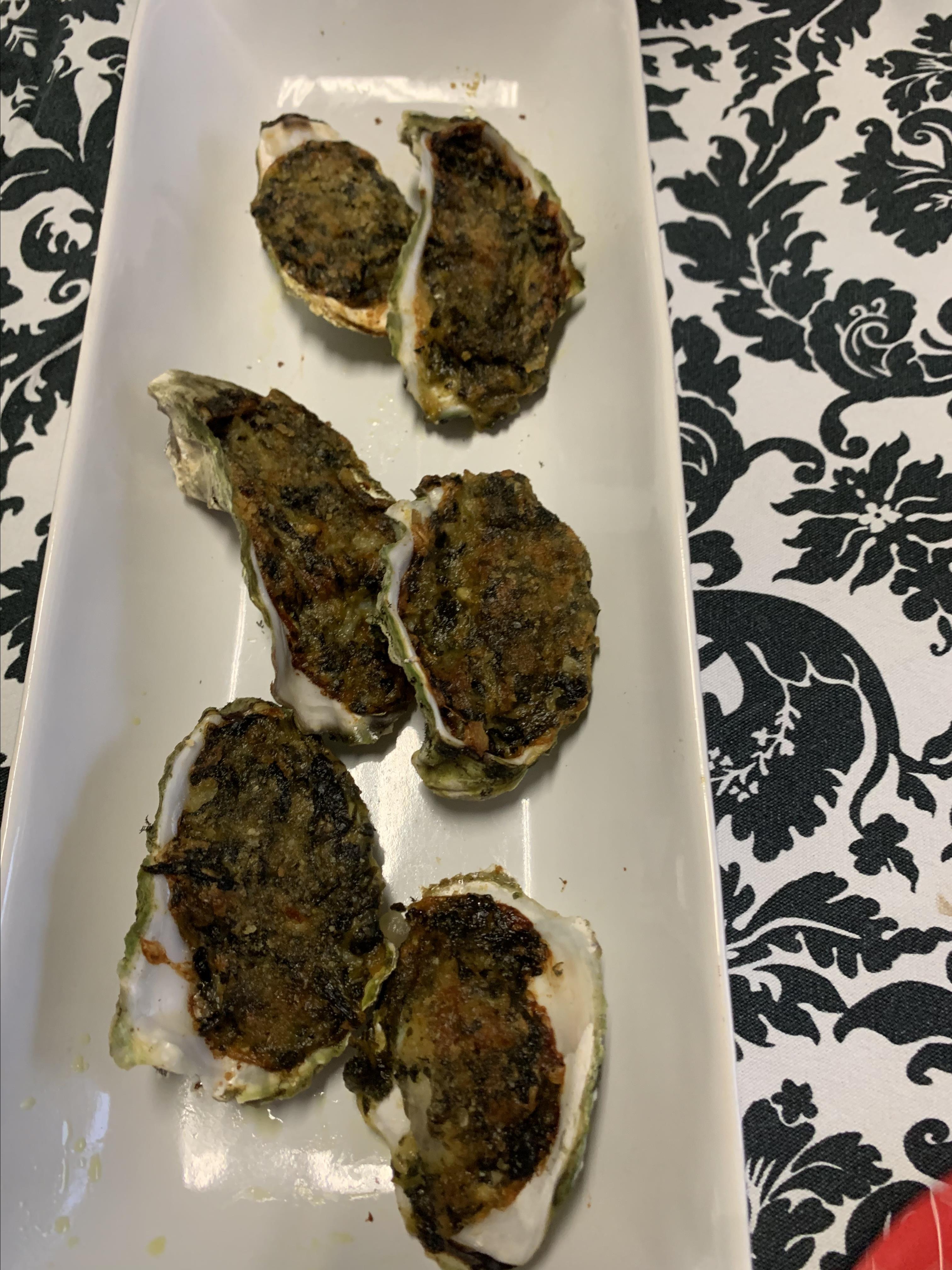 Rockin' Oysters Rockefeller Ehoneycutt
