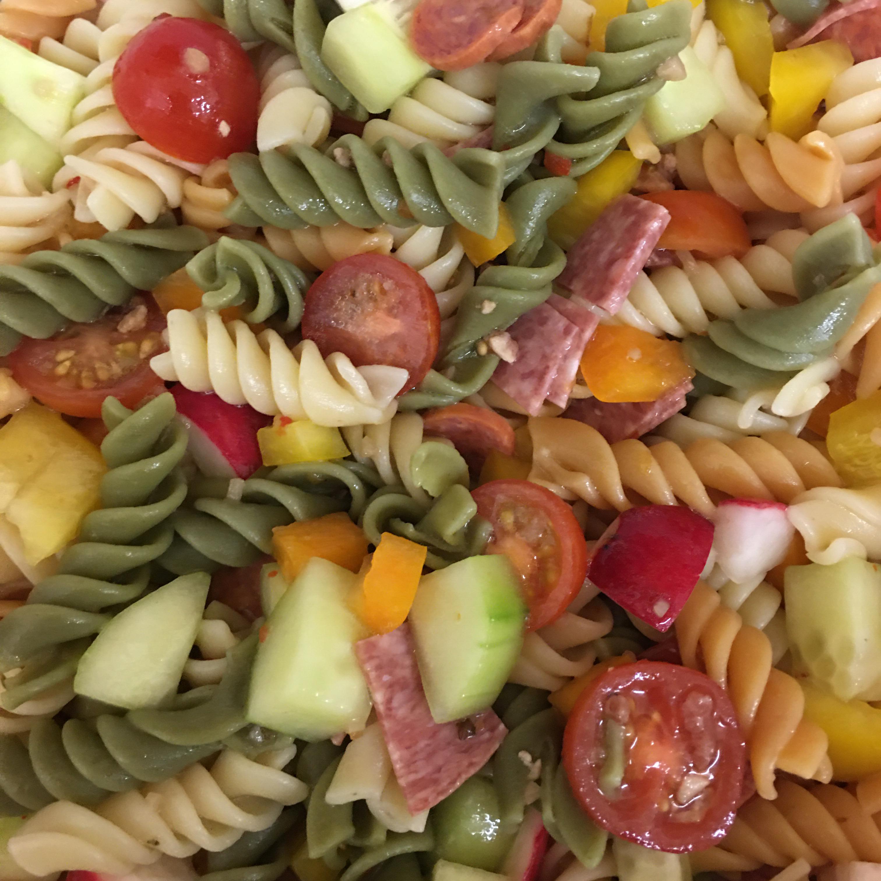 Italian Pasta Veggie Salad Destiny Swan Estrada