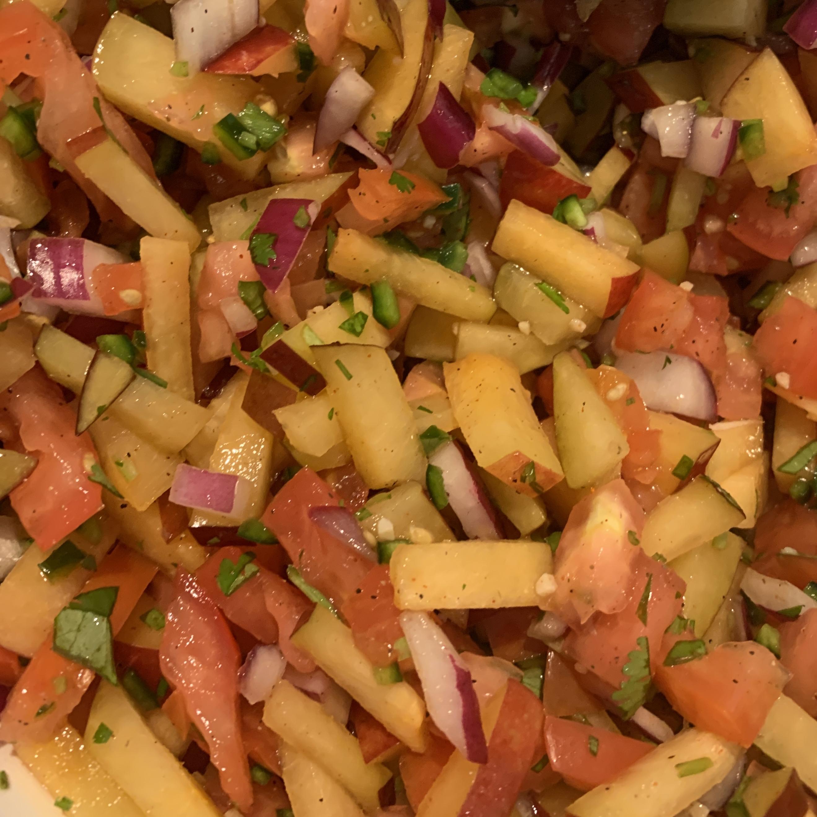 Fresh Plum Salsa Wheresmytoast