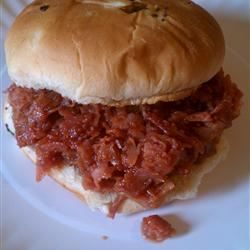Pittsburgh Style Chipped Ham Barbeque ~TxCin~ILove2Ck