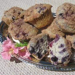 Healthier To Die For Blueberry Muffins