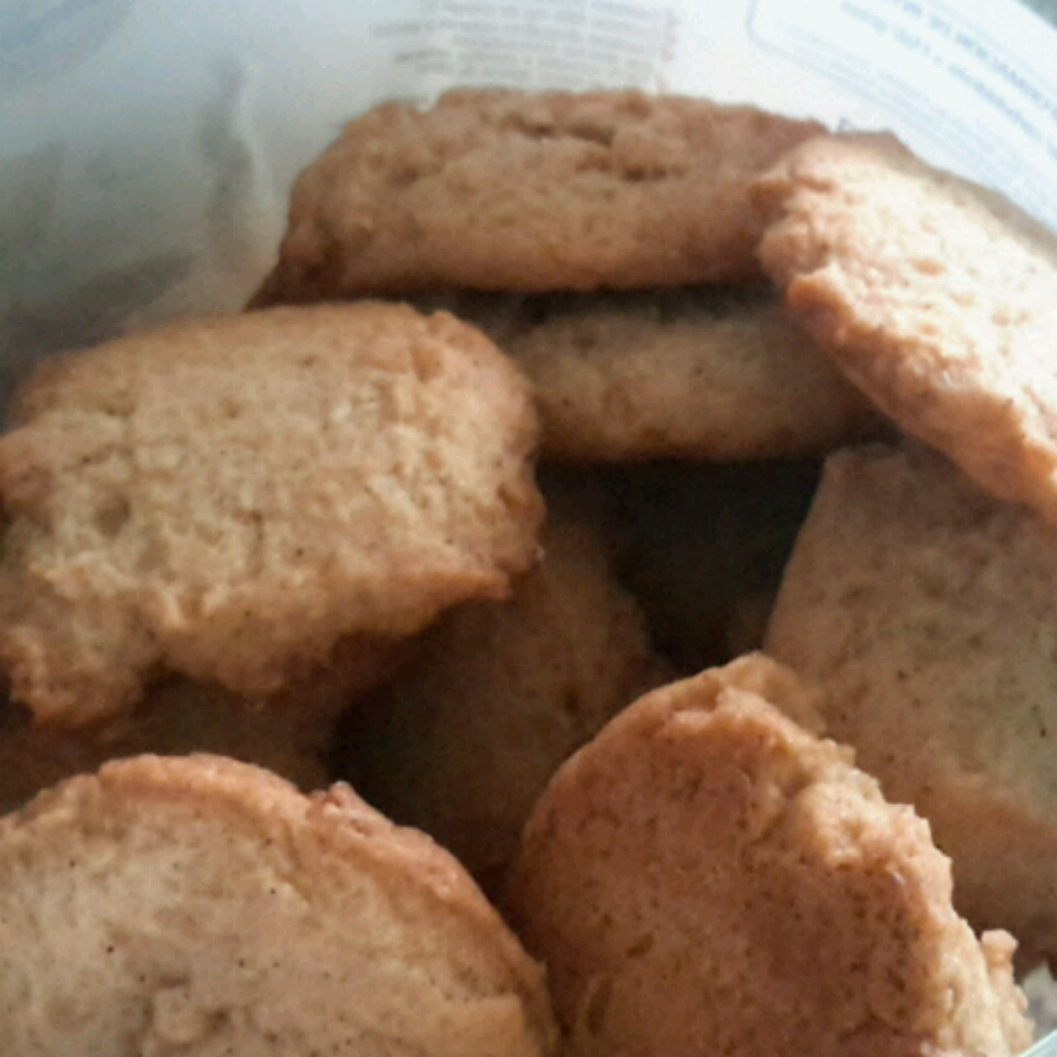 Easy Chewy Ginger Cookies sash
