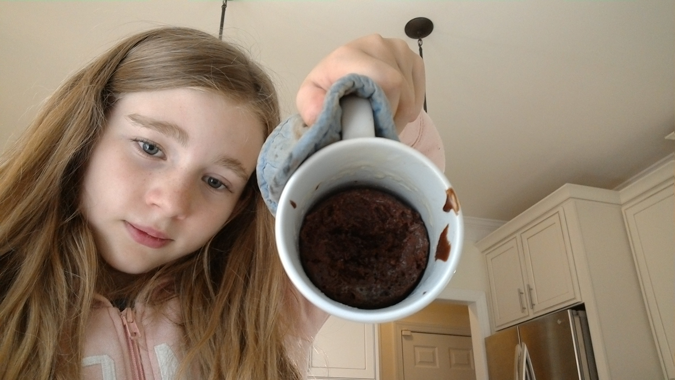 No Egg Chocolate Mug Cake cooker #2