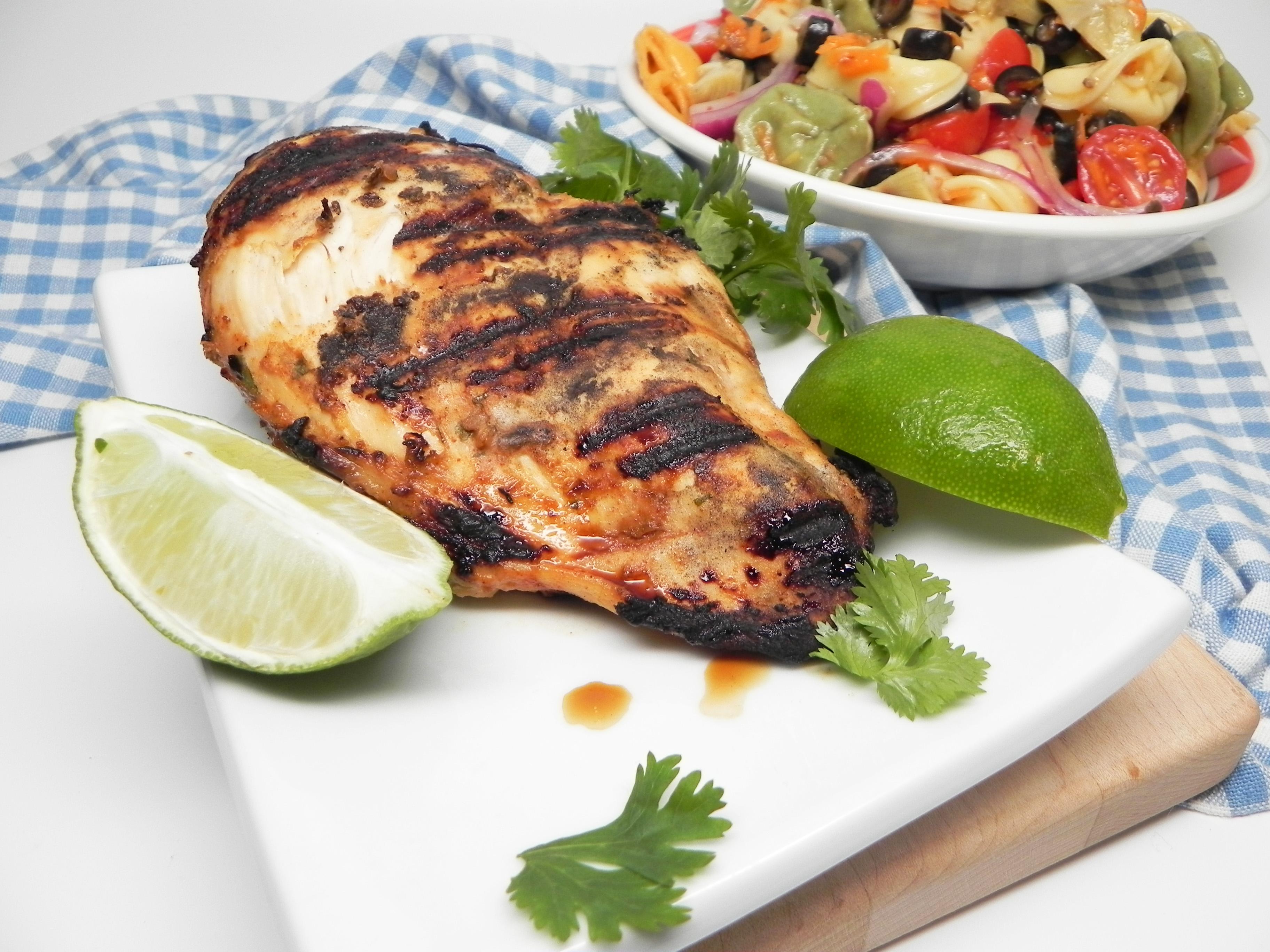 Spicy Grilled Buttermilk Chicken