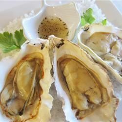 Barbequed Oysters