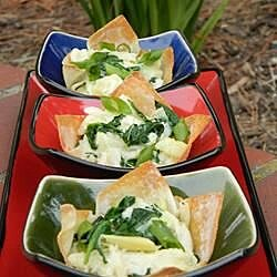 spinach artichoke and crab wontons recipe